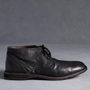 John Varvatos Hipster Chukka Boots Black size 10.5